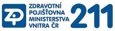 Zdravotní pojišťovna ministerstva vnitra - logo